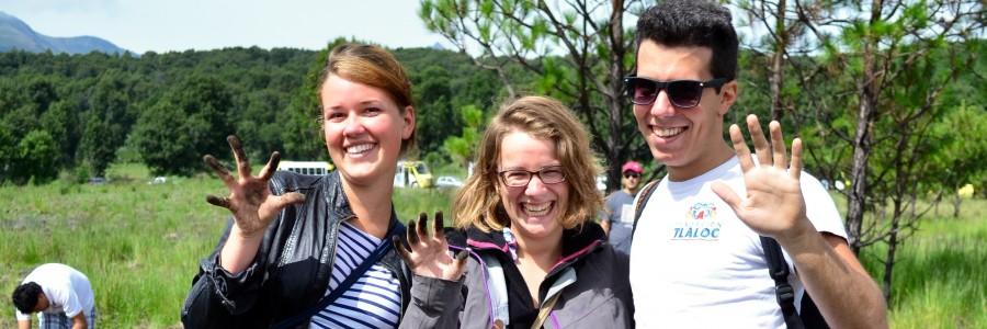 Nuestros Voluntarios Internacionales, ¡Gracias Totales!,  o lo que es lo mismo: Unsere internationalen Freiwilligen … Danke!
