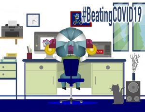 #BeatingCovid19
