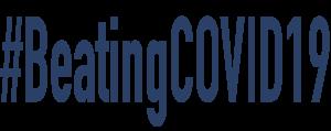 logo beating covid